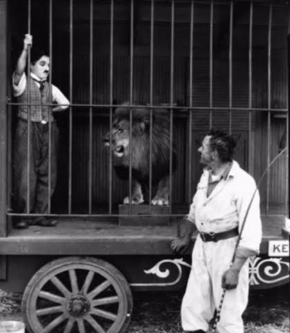 Numa and Chaplin in The Circus