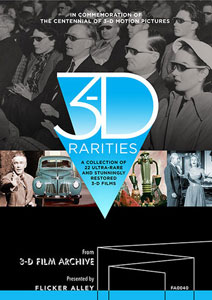 3-D Rarities Blu-ray Flicker Alley blu-ray DVD silent film buy watch stream