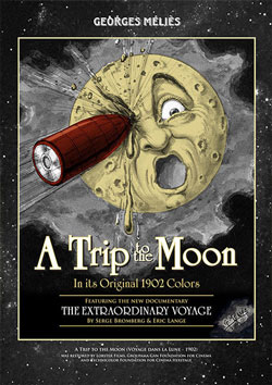 A Trip to the Moon: In its Original 1902 Colors Blu-ray/DVD Flicker Alley blu-ray DVD silent film buy watch stream