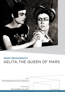 Aelita, the Queen of Mars Manufactured-On-Demand MOD DVD Flicker Alley blu-ray DVD silent film buy watch stream