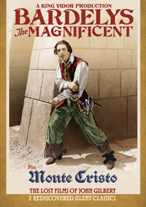 Flicker Alley blu-ray DVD silent film buy watch stream Bardelys the Magnificent / Monte Cristo: The Lost Films of John Gilbert DVD