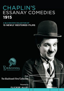 Flicker Alley blu-ray DVD silent film buy watch stream Chaplin's Essanay Comedies Blu-ray/DVD