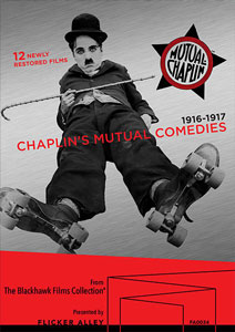 Chaplin's Mutual Comedies Blu-ray/DVD
