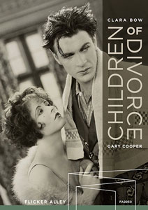 Flicker Alley blu-ray DVD silent film buy watch stream Children of Divorce (1927) Blu-ray/DVD cover