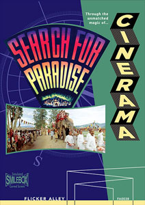 Flicker Alley blu-ray DVD silent film buy watch stream Cinerama's Search for Paradise Blu-ray/DVD