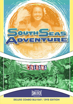 Cinerama's South Seas Adventure Blu-ray/DVD Flicker Alley blu-ray DVD silent film buy watch stream