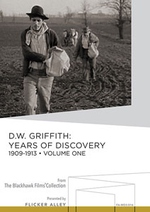 D.W. Griffith Years of Discovery 1909-1913 Volume One Manufactured-On-Demand MOD DVD