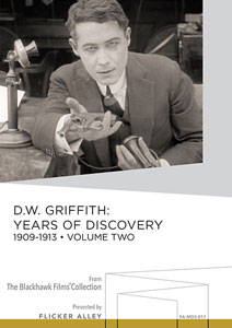Flicker Alley blu-ray DVD silent film buy watch stream D.W. Griffith Years of Discovery 1909-1913 Volume Two Manufactured-On-Demand MOD DVD