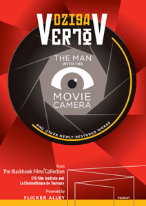 Flicker Alley blu-ray DVD silent film buy watch stream Dziga Vertov: The Man with the Movie Camera and Other Newly-Restored Works Blu-ray