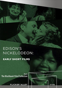 Flicker Alley blu-ray DVD silent film buy watch stream Edison's Nickelodeon: Early Short Films