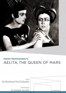 Aelita The Queen of Mars MOD DVD