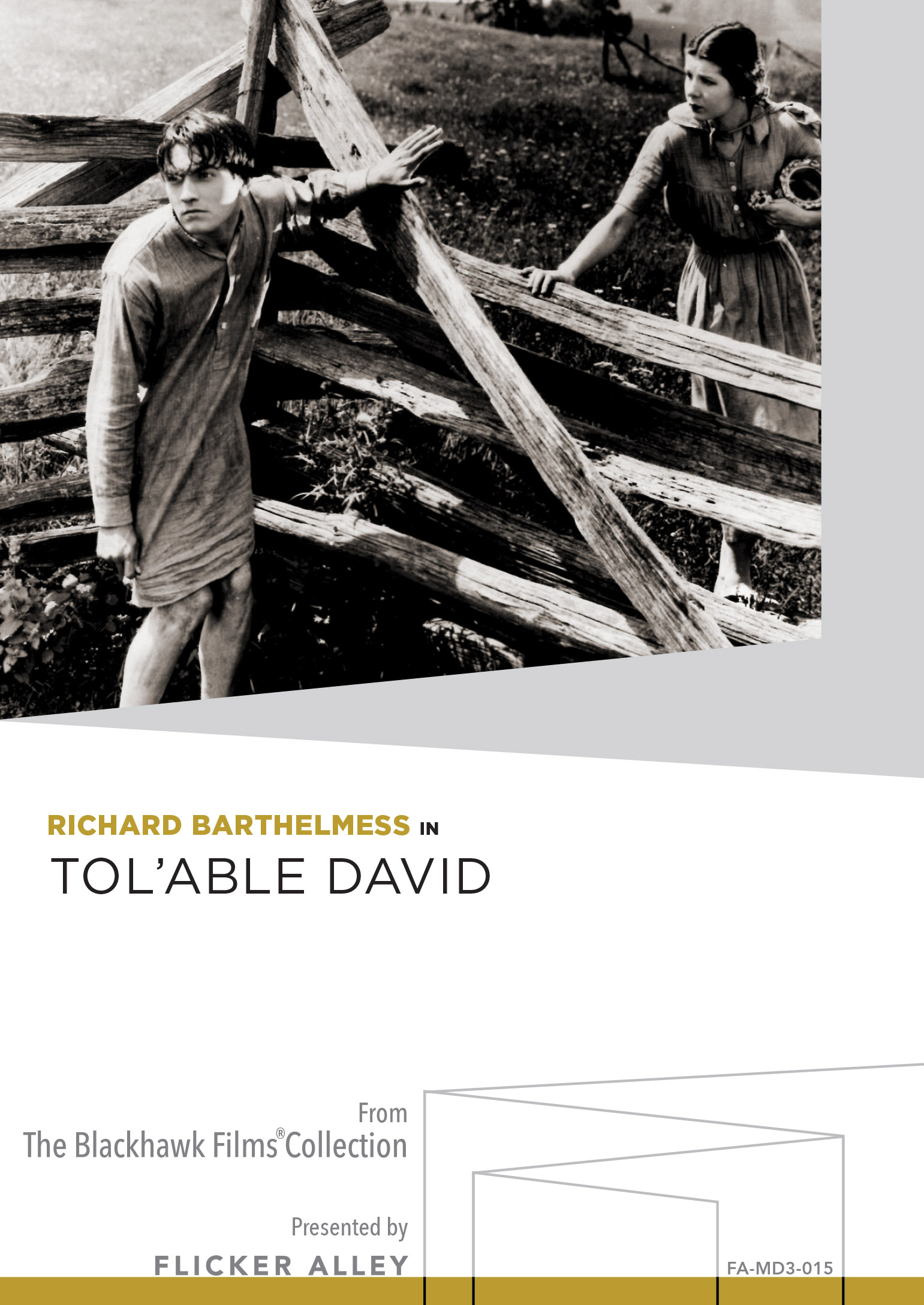 Tol'able David MOD DVD