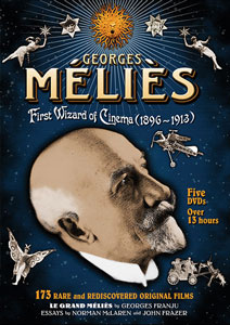 Flicker Alley blu-ray DVD silent film buy watch stream Georges Méliès: First Wizard of Cinema DVD