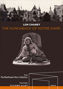 Flicker Alley blu-ray DVD silent film buy watch stream The Hunchback of Notre Dame (1923) Blu-ray starring Lon Chaney