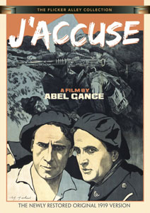 Flicker Alley blu-ray DVD silent film buy watch stream J'Accuse: A Film by Abel Gance DVD