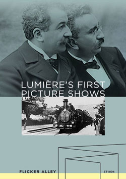 Lumière's First Picture Shows streaming in HD Flicker Alley blu-ray DVD silent film buy watch stream