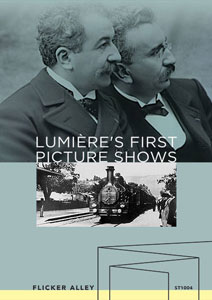Lumière's First Picture Shows Flicker Alley blu-ray DVD silent film buy watch stream