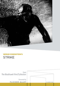 Flicker Alley blu-ray DVD silent film buy watch stream Sergei Eisenstein's Strike Manufactured-On-Demand DVD