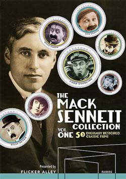 The Mack Sennett Collection, Vol. One Blu-ray Flicker Alley blu-ray DVD silent film buy watch stream