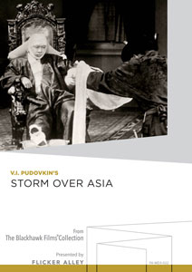 Storm over Asia Manufactured-On-Demand MOD DVD Flicker Alley blu-ray DVD silent film buy watch stream