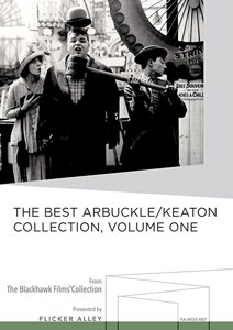The Best Arbuckle/Keaton Collection, Volume One Manufactured-On-Demand MOD DVD Flicker Alley blu-ray DVD silent film buy watch stream