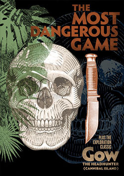 The Most Dangerous Game / Gow the Headhunter (Cannibal Island) Blu-ray Flicker Alley blu-ray DVD silent film buy watch stream