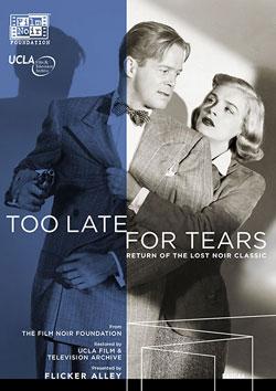 Too Late for Tears Blu-ray/DVD