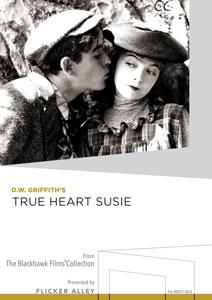 D.W. Griffith's True Heart Susie Manufactured-On-Demand MOD DVD Flicker Alley blu-ray DVD silent film buy watch stream