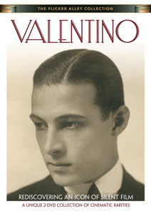 Flicker Alley blu-ray DVD silent film buy watch stream Valentino: Rediscovering an Icon of Silent Film DVD