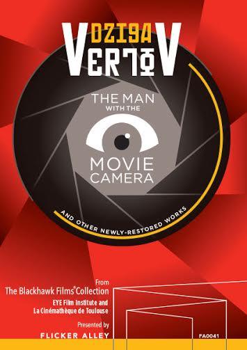 Flicker Alley Silent Film Blu-ray DVD Stream buy MOD Dziga Vertov Man with a Movie Camera
