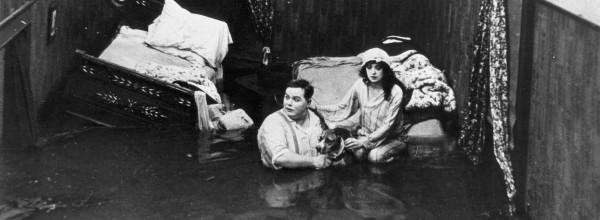 Fatty and Mabel Adrift -- Photo courtesy Orange County Archives