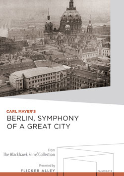 Berlin, Symphony of a Great City Manufactured-On-Demand MOD DVD Flicker Alley blu-ray DVD silent film buy watch stream