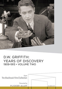 D.W. Griffith: Years of Discovery, 1909-1913 Volume Two Manufactured-On-Demand MOD DVD Flicker Alley blu-ray DVD silent film buy watch stream