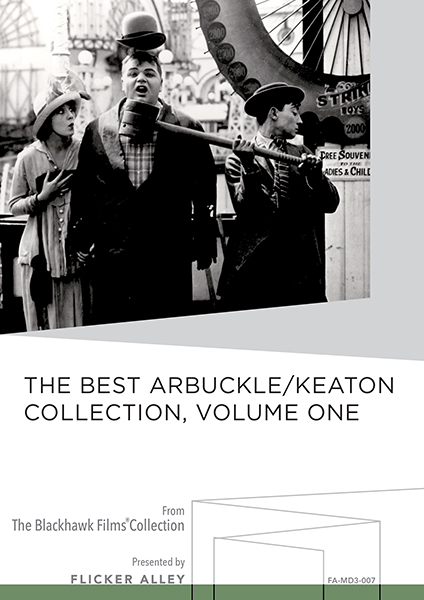Flicker Alley Silent Film Blu-ray DVD Stream buy MOD The Best Arbuckle / Keaton Vol. Two
