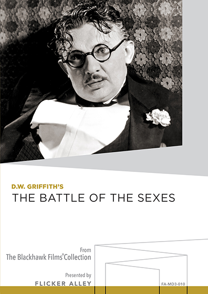 Battle of the Sexes MOD DVD Flicker Alley Silent Film Blu-ray DVD Stream buy MOD D.W. Griffith