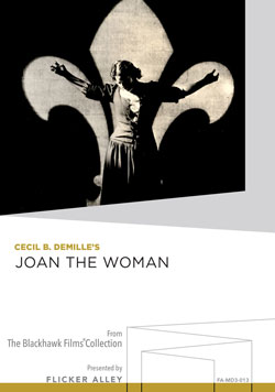 Cecil B. DeMille's Joan the Woman Manufactured-On-Demand MOD DVD Flicker Alley blu-ray DVD silent film buy watch stream