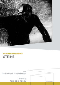 Flicker Alley blu-ray DVD silent film buy watch stream Sergei Eisenstein's Strike Manufactured-On-Demand MOD DVD