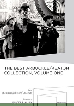 Flicker Alley blu-ray DVD silent film buy watch stream The Best Arbuckle/Keaton Collection, Volume One Manufactured-On-Demand MOD DVD