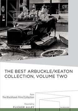 Flicker Alley blu-ray DVD silent film buy watch stream The Best Arbuckle/Keaton Collection, Volume Two Manufactured-On-Demand MOD DVD