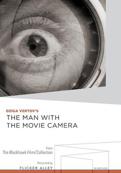Dziga Vertov's The Man with the Movie Camera Manufactured-On-Demand MOD DVD Flicker Alley blu-ray DVD silent film buy watch stream