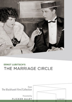 Flicker Alley blu-ray DVD silent film buy watch stream The Marriage Circle Manufactured-On-Demand MOD DVD