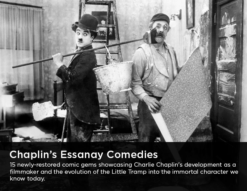 Flicker Alley blu-ray DVD silent film buy watch stream Charlie Chaplin