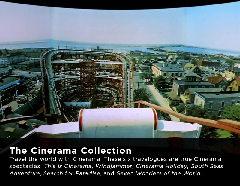 Flicker Alley Silent Film Blu-ray DVD Stream buy MOD Cinerama movies