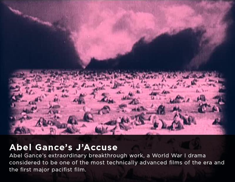 Flicker Alley Silent Film Blu-ray DVD Stream buy MOD J'Accuse Abel Gance