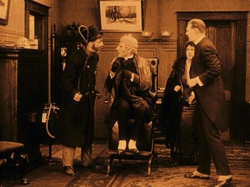Flicker Alley Silent Film Blu-ray DVD Stream buy MOD Sherlock Holmes William Gilette