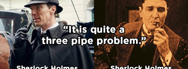 Sherlock BBC - Sherlock - Gillette - Pipe - 2016