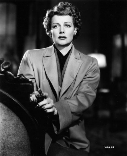 Ann Sheridan in Woman on the Run.