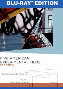 Five American Experimental Films Blu-ray Edition cover