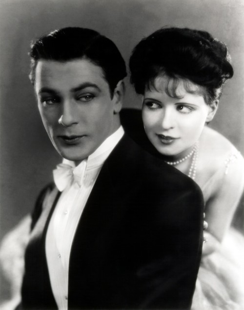 Publicity still of Cooper and Bow for Children of Divorce.