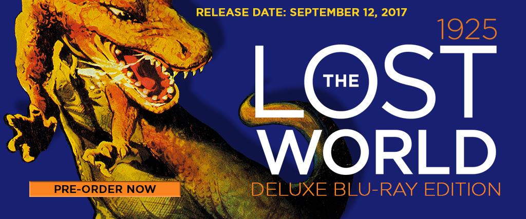 The Lost World Silent Film 1925 Blu-ray Flicker Alley restored